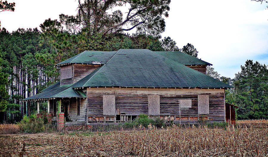 Landscape Photograph - Brown House by Linda Brown