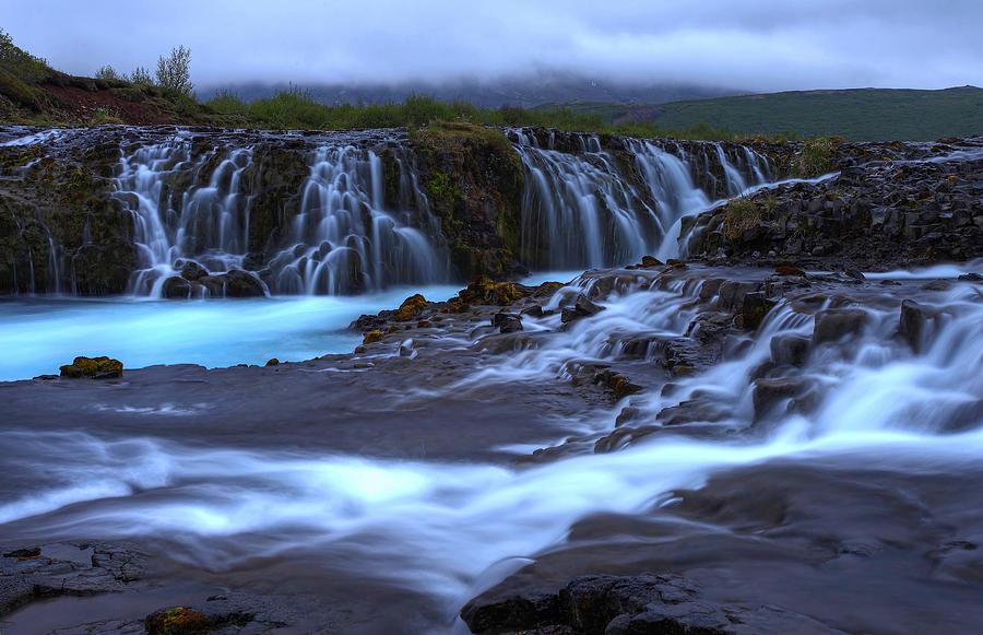 Bruarfoss Iceland Photograph