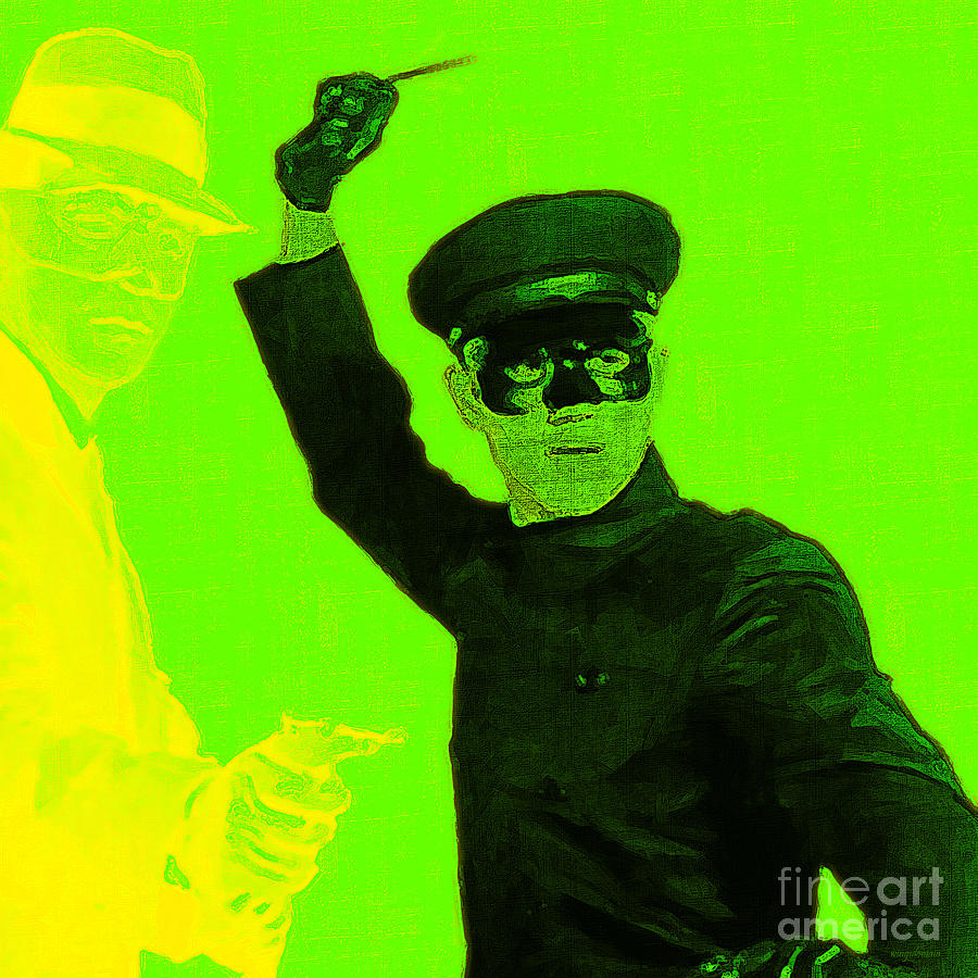 Bruce Lee Kato And The Green Hornet Square P54