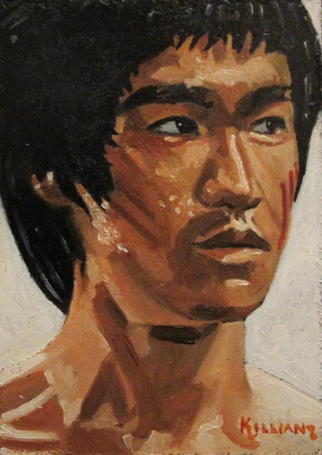 Bruce Lee Painting - Bruce Lee by Patrick Killian