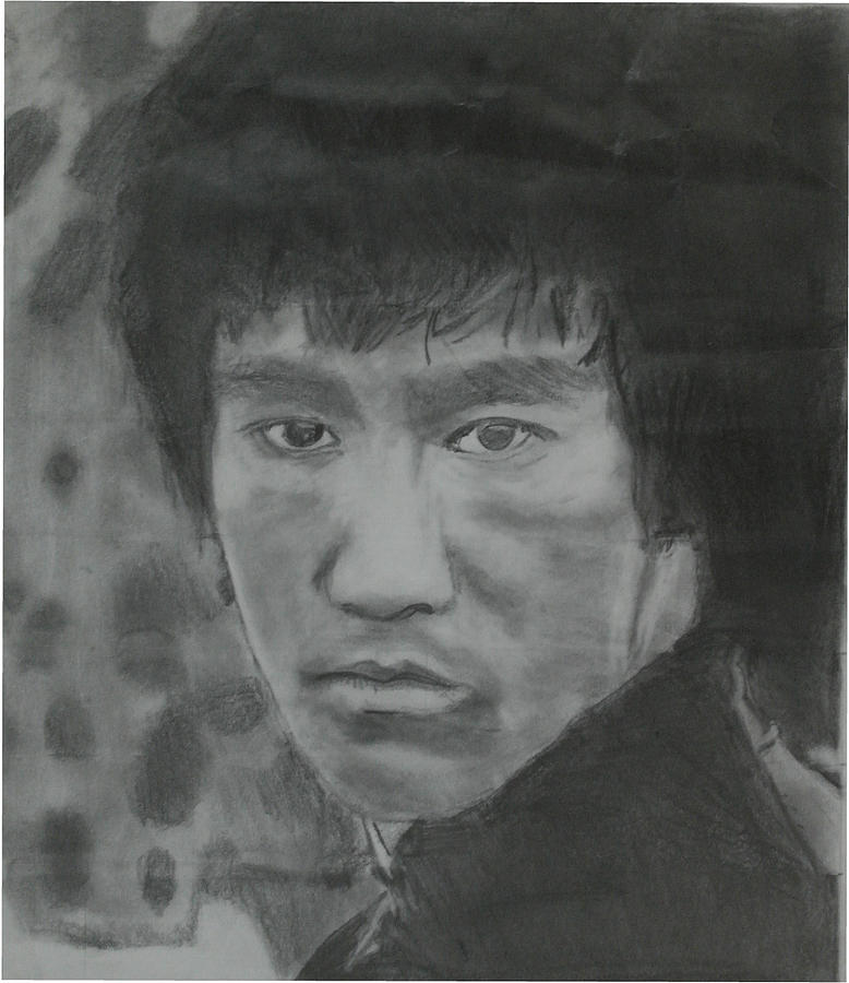 Bruce Lee Drawing - Bruce Lee by Terence Leano