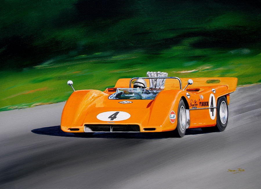 Acrylic Painting On Cars
