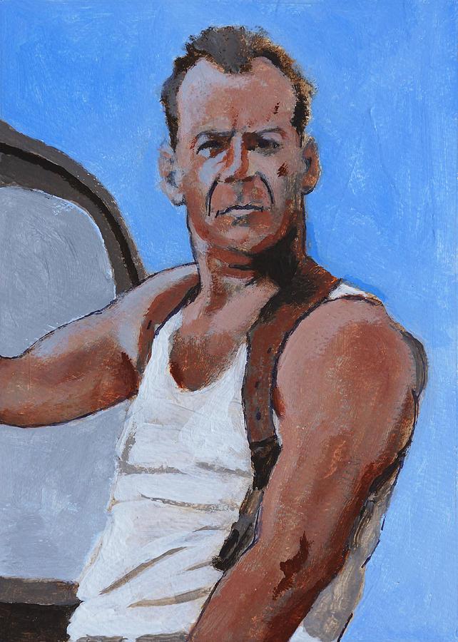 Bruce Painting - Bruce by Robert Bissett