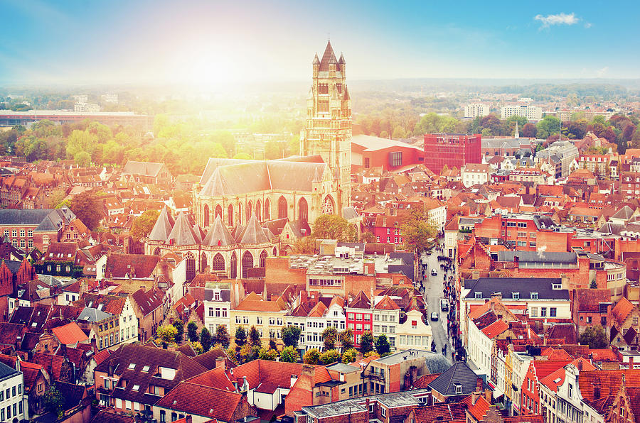 Bruges, Belgium Photograph by Artmarie