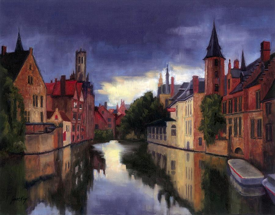 Canal Paintings For Sale
