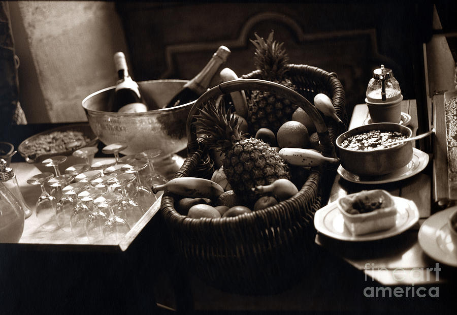 Champagne Photograph - Brunch In The Loire Valley by Madeline Ellis