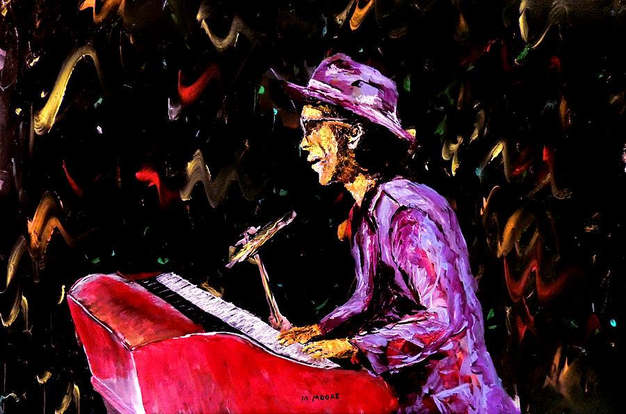Bruno Mars Painting - Bruno Mars  by Mark Moore