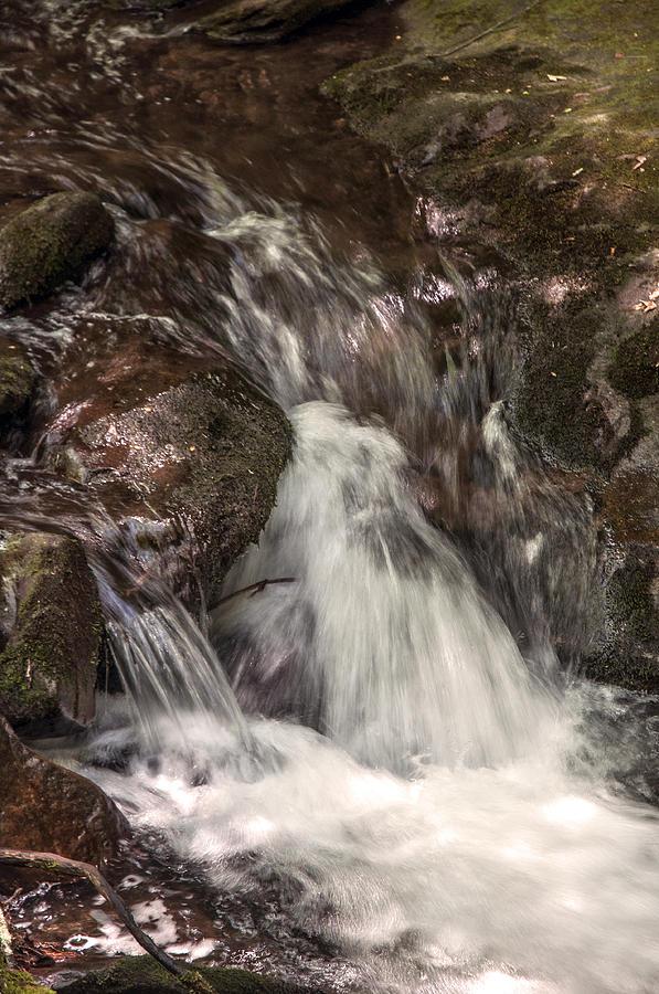 Brushed Creek Falls Photograph