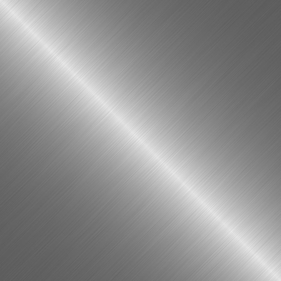 Brushed Digital Art - Brushed Steel Metal Texture 1 by REDlightIMAGE
