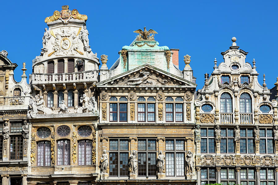 Brussels, Grand Place Photograph by Sylvain Sonnet