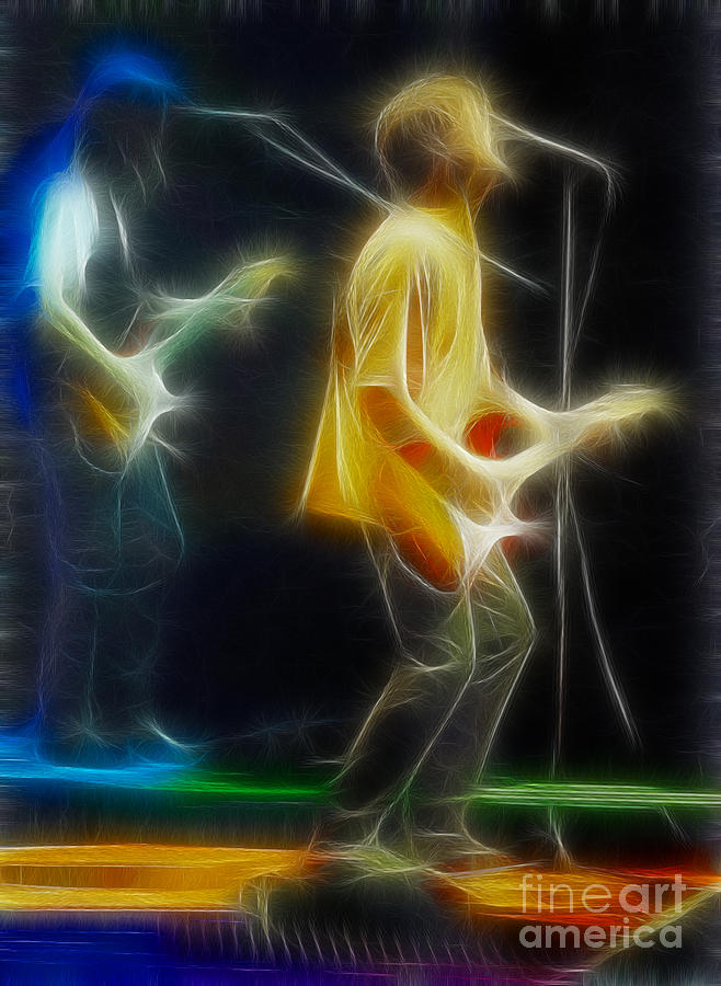 Abstract Photograph - Bryan Adams-neighbors-ge18-fractal by Gary Gingrich Galleries