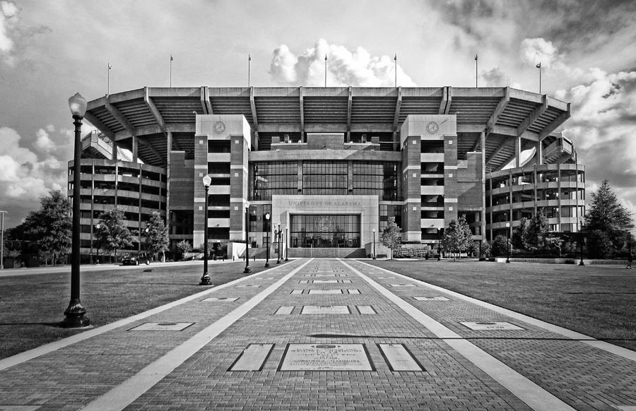 Bryant-denny Stadium Photograph - Bryant Denny Stadium 2011 by Ben Shields