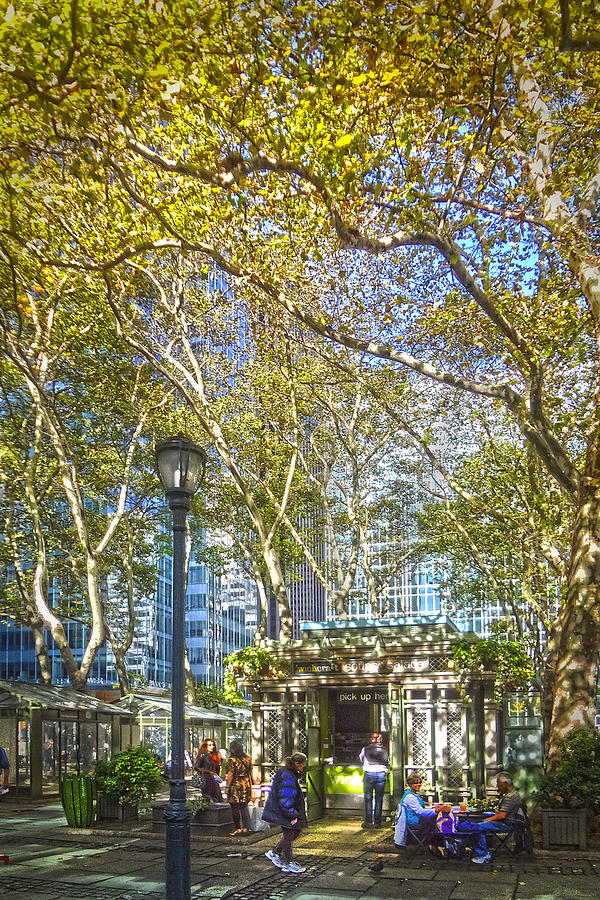 Downtown Photograph - Bryant Park Afternoon by Richard Trahan
