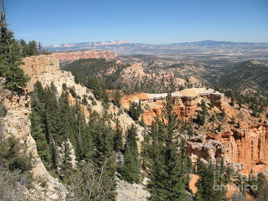Rocks Photograph - Bryce Canyon Overlook by Christiane Schulze Art And Photography