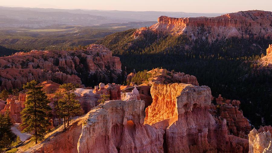 Sunrise Photograph - Bryce Canyon Sunrise by Zhijian Tao