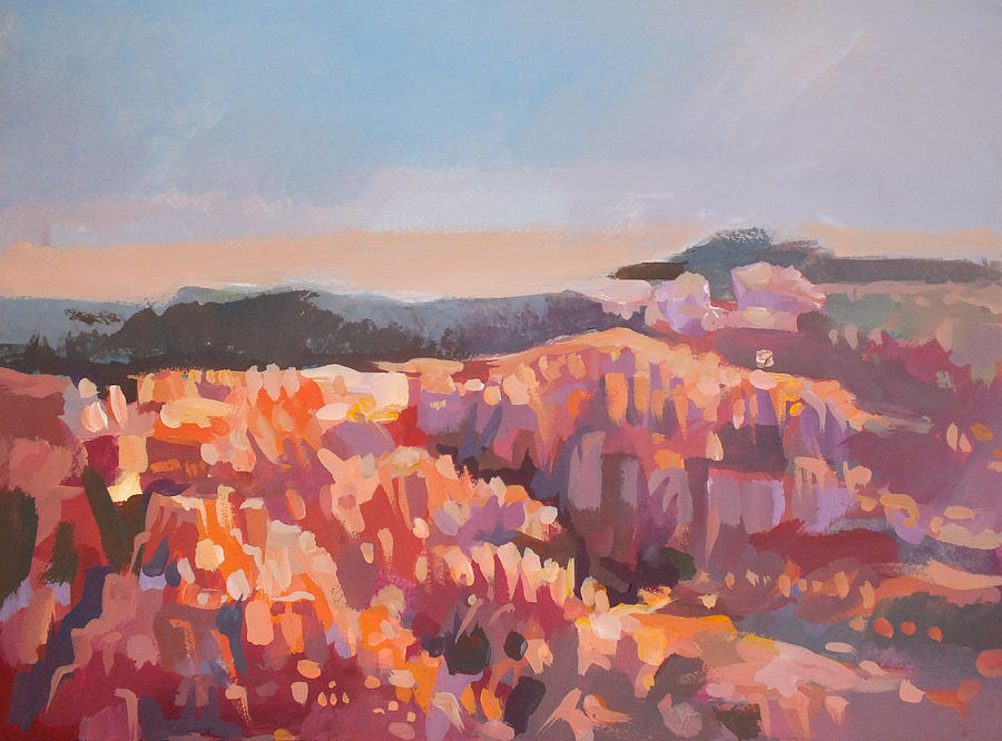 Inspiration Point Painting - Bryce Canyon - Utah by Filip Mihail