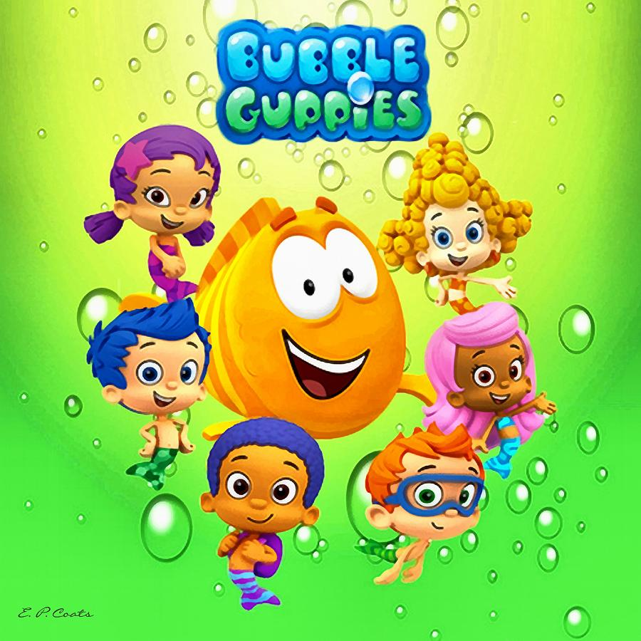 Stupendous image pertaining to bubble guppies printable
