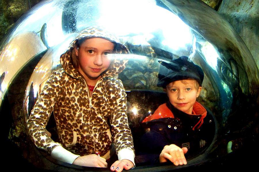 Bubble Kids Photograph