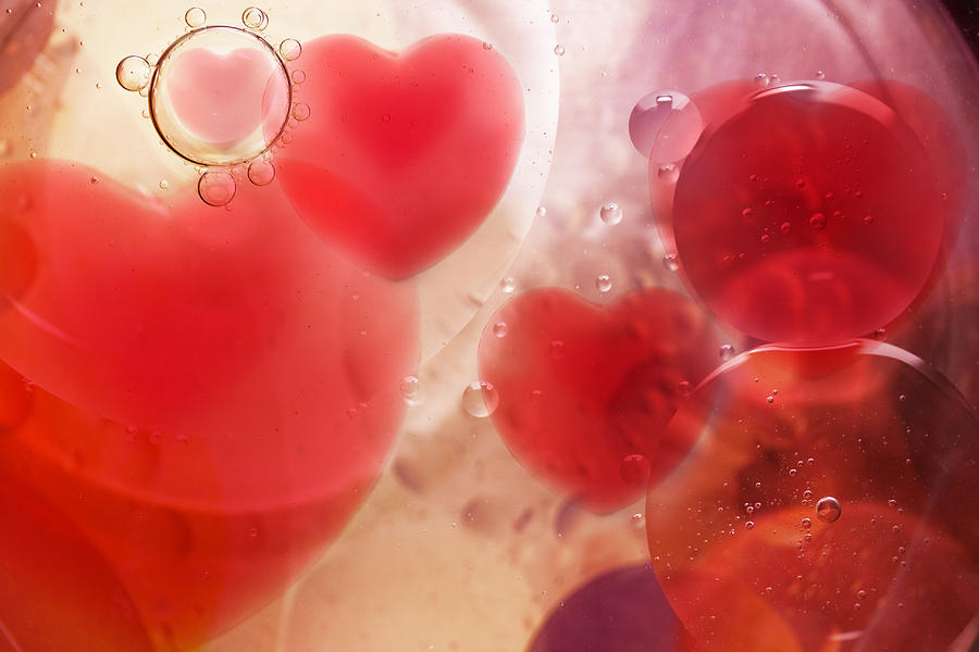 Abstract Digital Art - Bubble love  by Svetoslav Sokolov