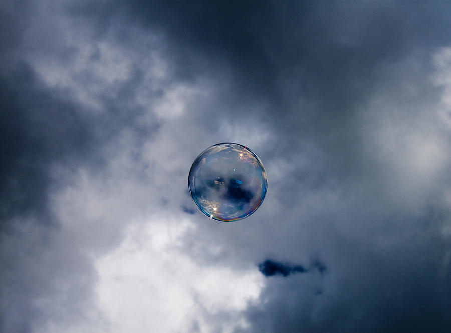 Bubble Photograph - Bubble by Robert Hellstrom