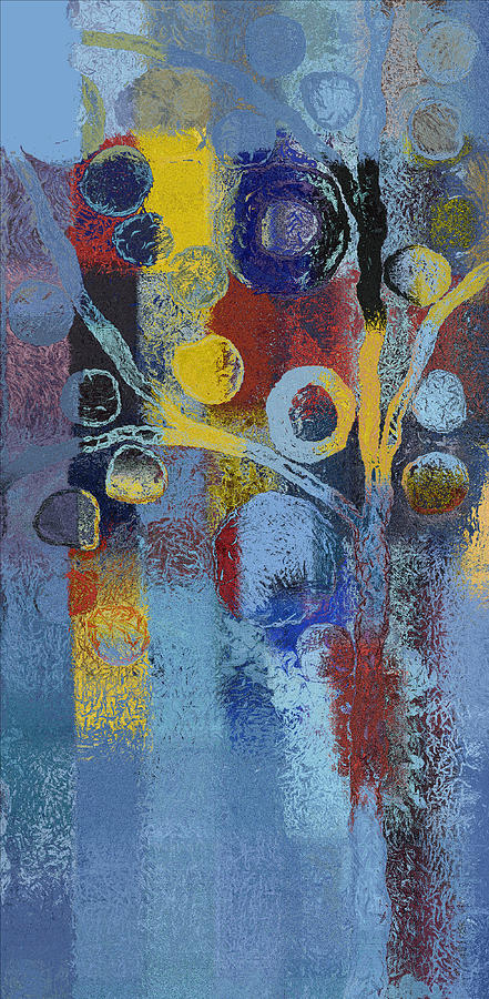 Tree Painting - Bubble Tree - 7376106l by Variance Collections