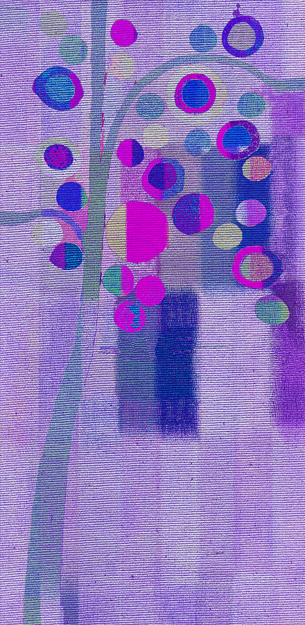 Tree Painting - Bubble Tree - S85lc03 by Variance Collections