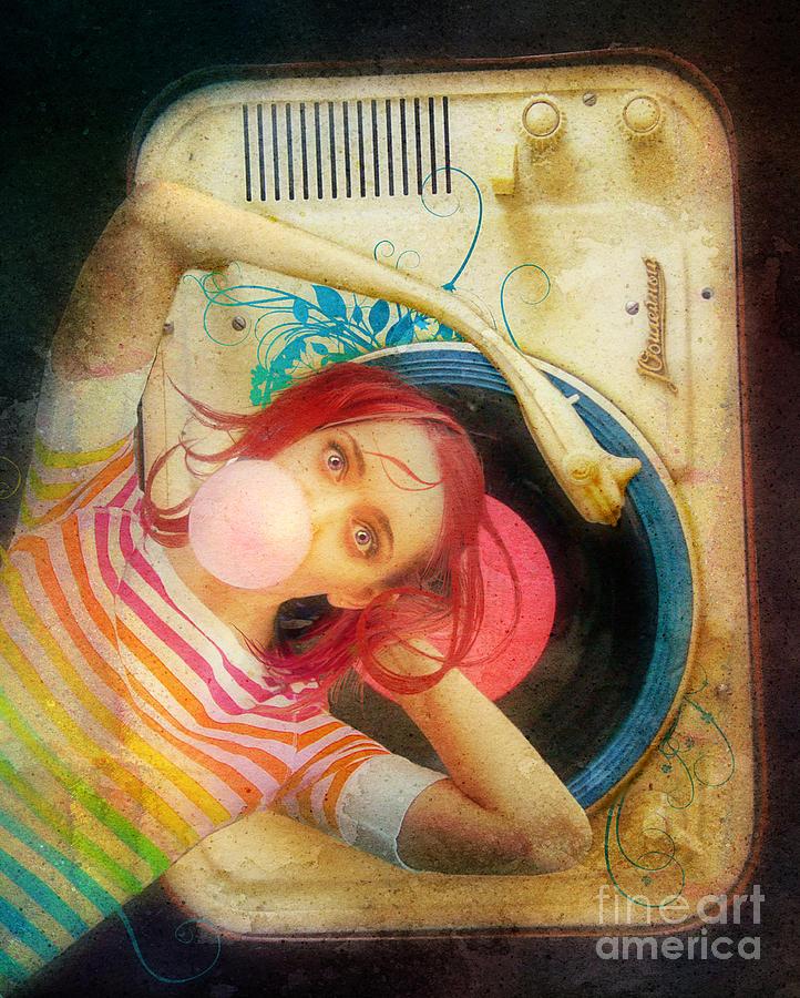 Aerial View Photograph - Bubblegum Pop by Aimee Stewart