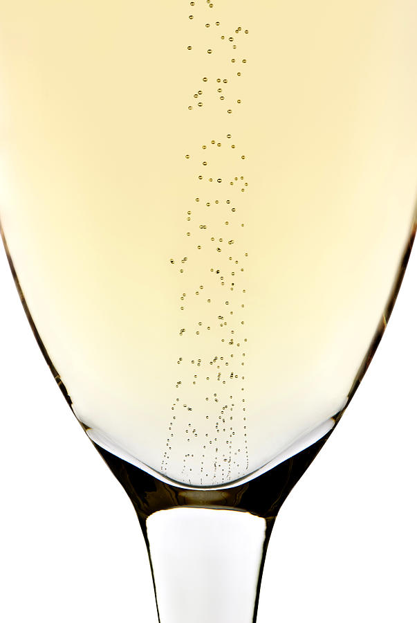 Detail Photograph - Bubbles In Champagne by Johan Swanepoel