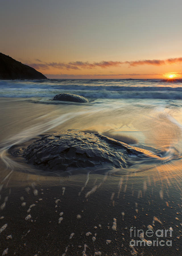 Bubbles Photograph - Bubbles On The Sand by Mike  Dawson