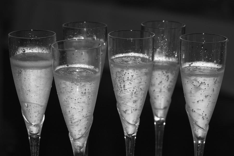 Champagne Photograph - Bubbly II by Bonnes Eyes Fine Art Photography