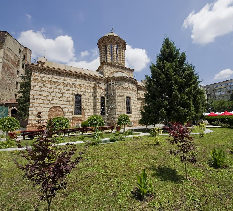 Architecture Photograph - Bucharest Church by Ioan Panaite
