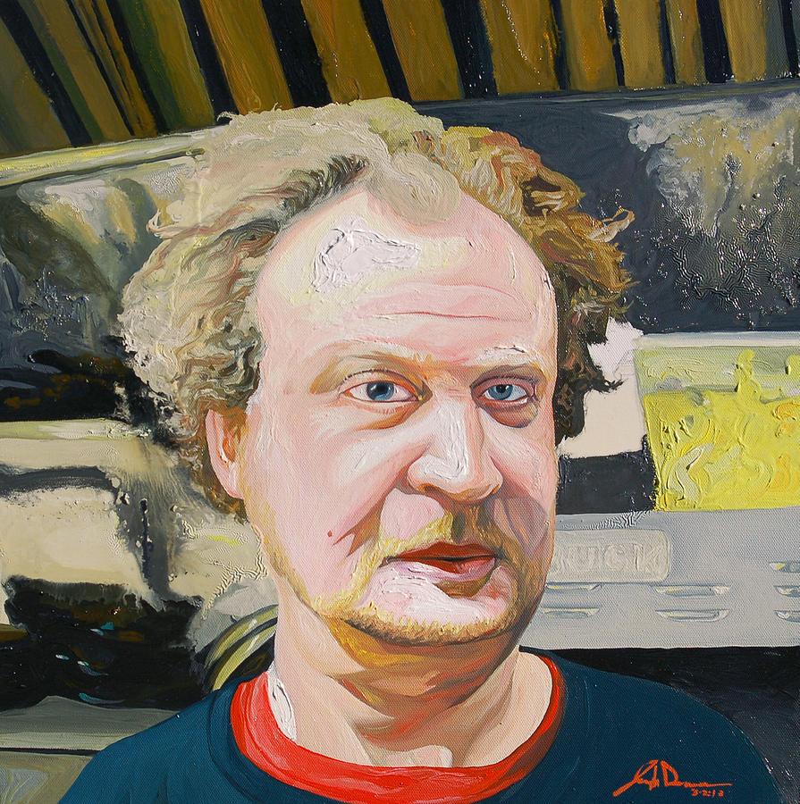 Portrait Painting - Buck by Joseph Demaree