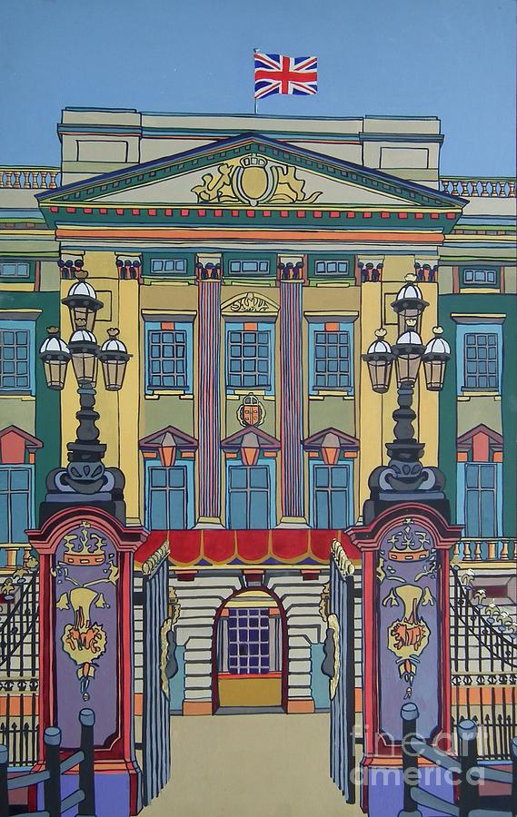 Buckingham Palace Painting - Buckingham Palace by Nicky Leigh