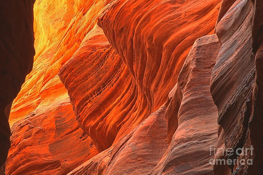 Buckskin Gulch Photograph - Buckskin Shades Of Red by Adam Jewell