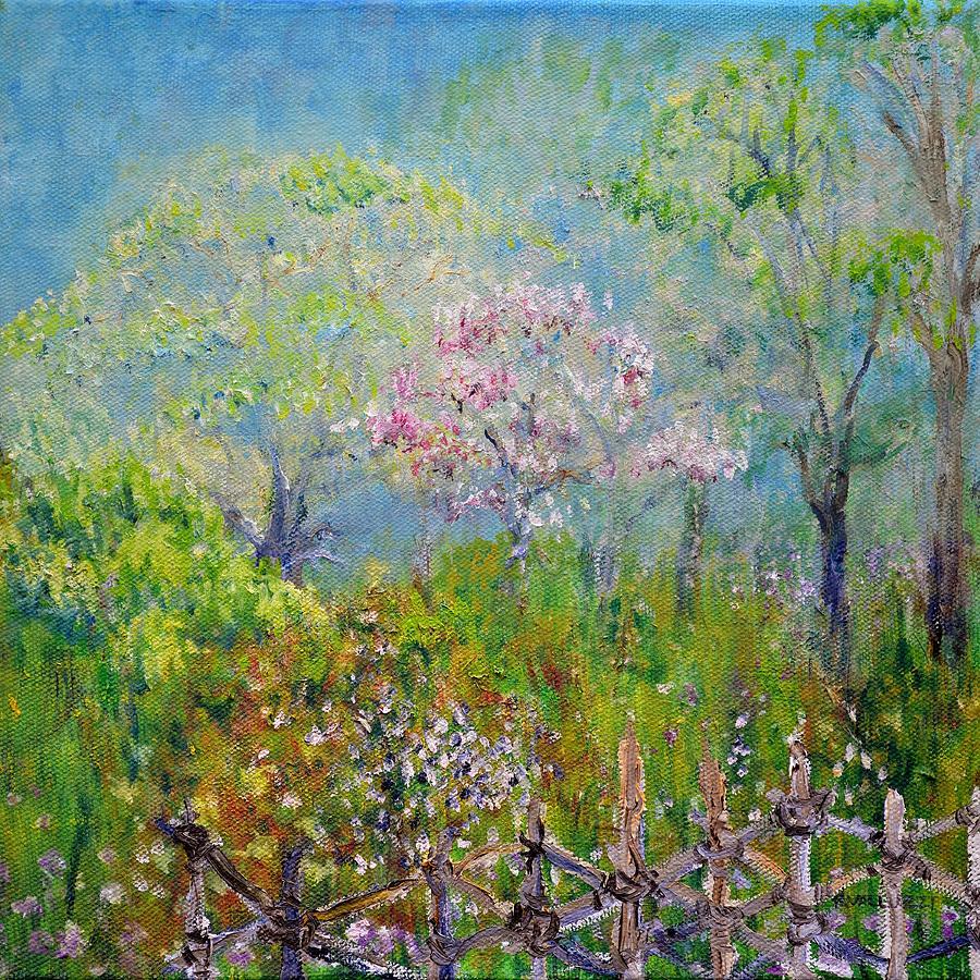 Dreamy Painting - Bucolic Daydream by Regina Valluzzi