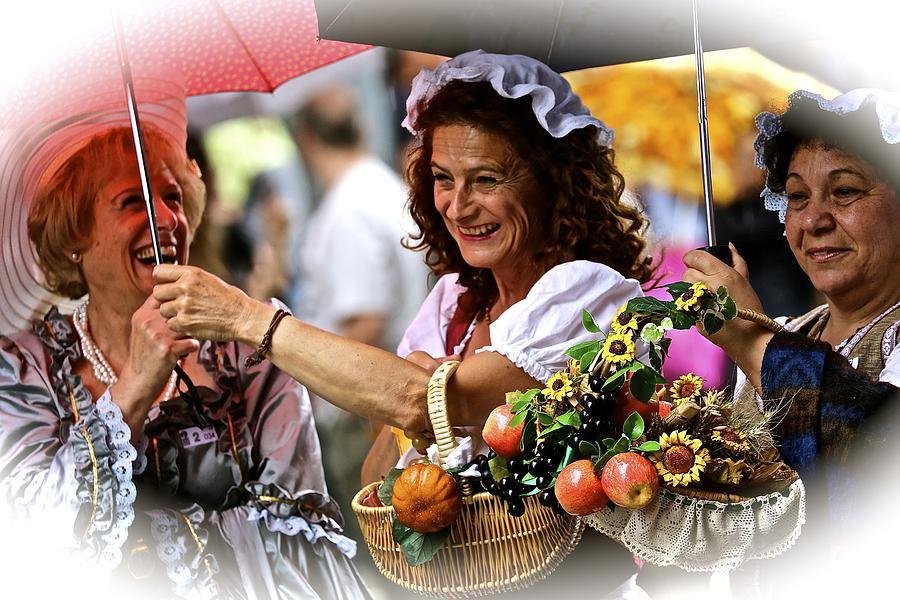 People Photograph - Bucolic Happiness by Roberto Galli della Loggia