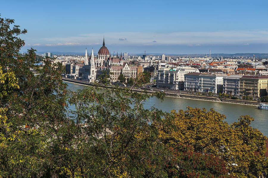 Budapest Photograph - Budapest City by Pam  Elliott