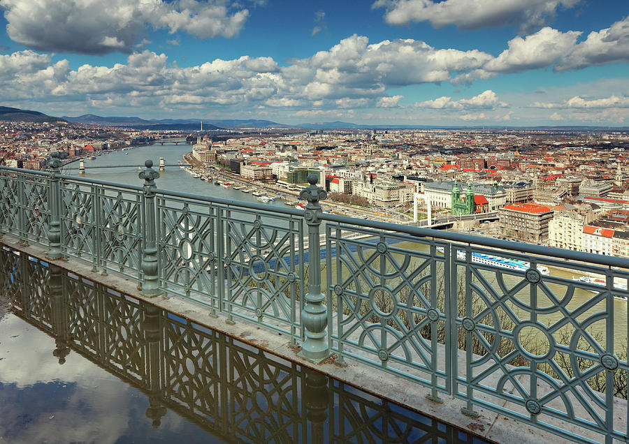 Budapest Cityscape Photograph by Mammuth