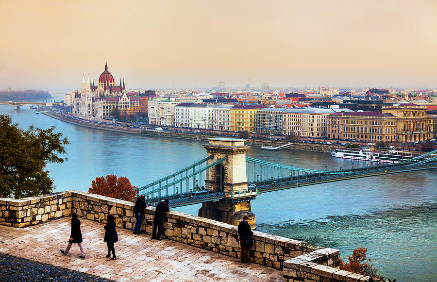 Budapest - Hungarian Pastels Photograph by John And Tina Reid