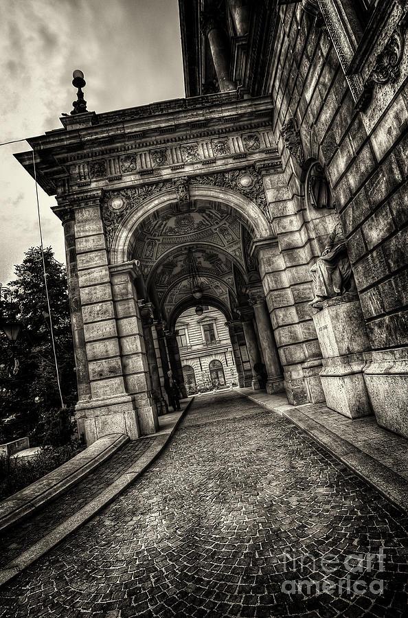 Budapest Photograph - Budapest Opera House by Mohamed Rahmo