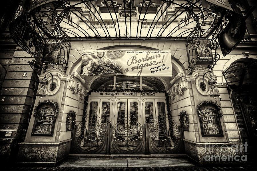 Budapest Photograph - Budapest Opera by Mohamed Rahmo