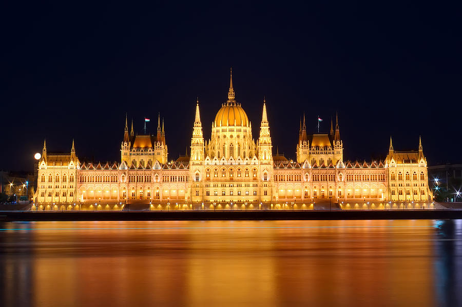 Budapest Parliament Photograph by Ioan Panaite