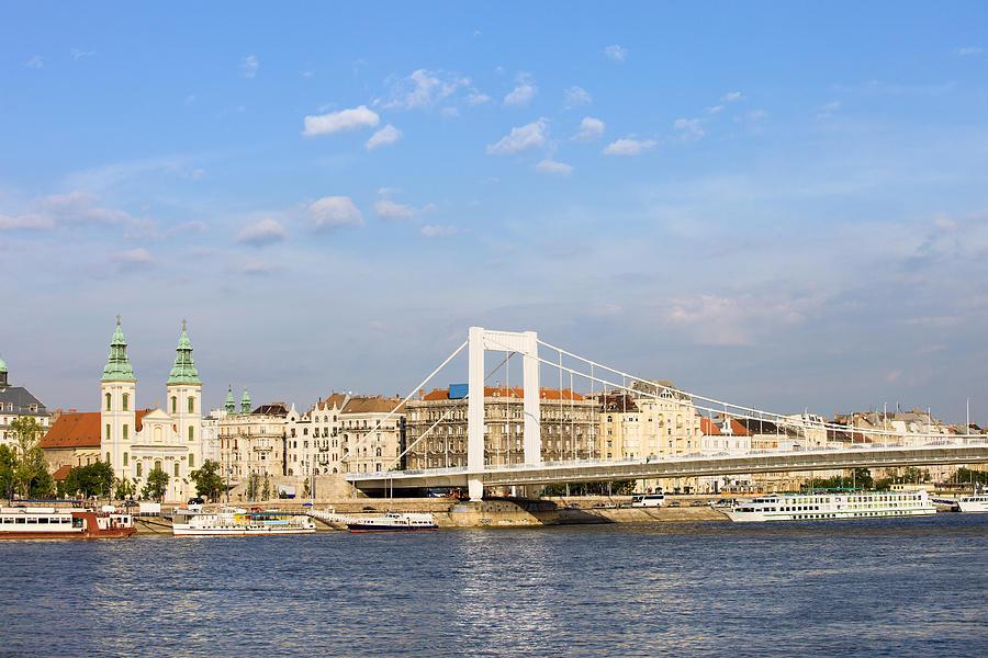 Budapest Photograph - Budapest Skyline by Artur Bogacki