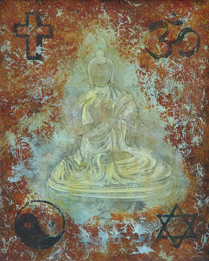 Budda Painting - Budda by Jeffrey Oldham