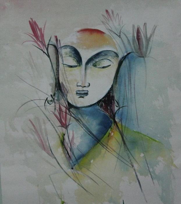 Paintings Painting - Buddha 95765 by Sir