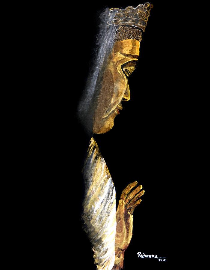 Buddha Painting - Buddha by Judy M Watts-Rohanna