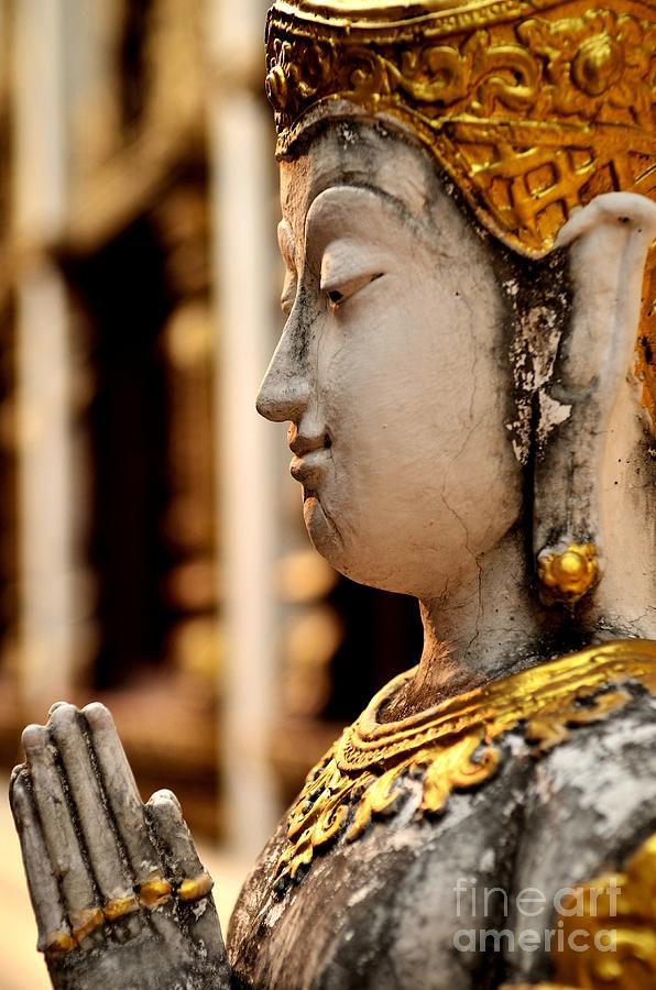 Buddha Photograph - Buddha - Namaskara Mudra by Dean Harte