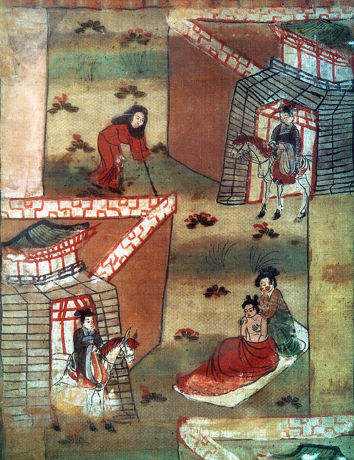 10th Century Painting - Buddha Prince Siddhartha by Granger