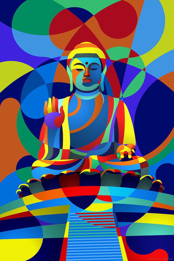 Buddha by Randall Henrie