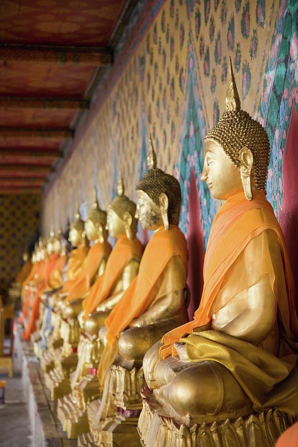 Buddha Temple Wat Arun Bangkok Photograph by Lp7